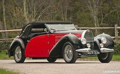 1938 Bugatti Type 57 Stelvio by Gangloff