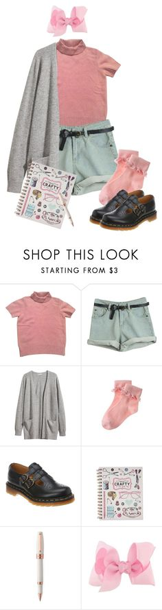"""blossom"" by momotaroumikoshiba ❤ liked on Polyvore featuring Kenzo, H&M, Gymboree, Dr. Martens, Montegrappa, blossom and PPG"