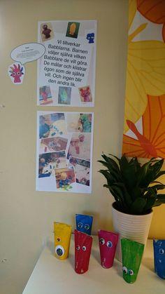 Lite dokumentation om Babblarna. Ålder 1-3 år. Kids And Parenting, Christmas Crafts, Ark, Preschool, Frame, Tips, Inspiration, The Documentary, Projects