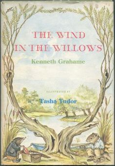 The Wind in the Willows, another of my favorite childhood books, illustrated by Tasha Tudor Die Tudors, Kenneth Grahame, Vie Simple, Arte Popular, Vintage Children's Books, Children's Book Illustration, Book Illustrations, Children's Literature, Mellow Yellow