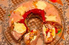 Šunkový aspik | NejRecept.cz Slovak Recipes, Czech Recipes, Keto Recipes, Snack Recipes, Cooking Recipes, Snacks, Ethnic Recipes, Cute Food, Food And Drink
