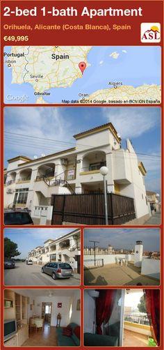 2-bed 1-bath Apartment in Orihuela, Alicante (Costa Blanca), Spain ►€49,995 #PropertyForSaleInSpain