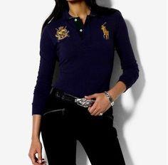 Ralph Lauren Mancher Longues Polo Femme dde458896959
