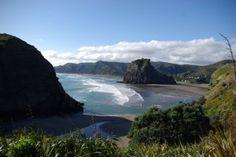 Piha, New Zealand. need to go here *someday*....