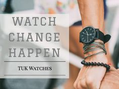Stylish. Minimal. Transformative. Each TUK Watch sold provides access to clean, safe, drinking water for a Cambodian family.