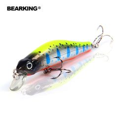 Bearking hot  fishing lures,5pcs/lot fishing lures, assorted different colors,Minnow,80mm/8.5g free shipping