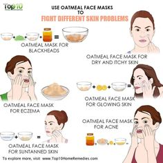 Use Oatmeal Face Masks to Fight Different Skin Problems main image use oatmeal face mask for skin problems This image. Face Mask For Pores, At Home Face Mask, Face Skin, Pore Mask, Skin Mask, Oatmeal Face Mask, Skin Care Routine For 20s, Skin Problems, Face Care