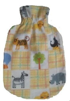 Warm Tradition Children's Zoo Animals Cotton Flannel Covered Hot Water Bottle - Bottle made in Germany, Cover made in USA  Price : $17.95   https://www.warmtradition.com/collections/kids-flannel/products/warm-tradition-zoo-animals-flannel-childrens-covered-hot-water-bottle-bottle-made-in-germany-cover-made-in-usa