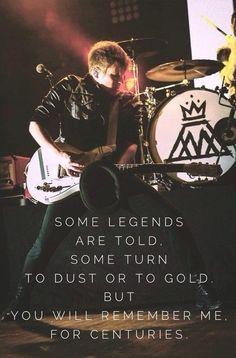Fall Out Boy, Patrick Stump, Centuries. New Single. I love it!!!