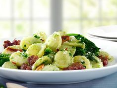 Barilla® Orecchiette Collection with Broccoli Rabe & Sausage # barilla . - Barilla® Orecchiette with Broccoli Collection Rabe & Sausage # barilla - Barilla Recipes, Pasta Recipes, Cooking Recipes, Healthy Recipes, Salad Recipes, Italian Dishes, Italian Recipes, Italian Foods, Gourmet
