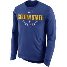 3037db394c9 Golden State Warriors Nike Dri-FIT Men s Essential Team Crest Hoodie - Royal