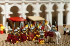The Colosseum . in Lego, Downunder Lego Roman, Cool Toys, Awesome Toys, Lego Australia, Rome History, Roman Legion, Lego Army, Lego Boards, Lego Pictures
