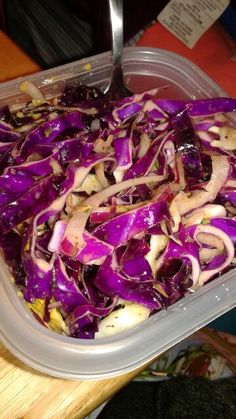 Sweet and sour cabbage salad