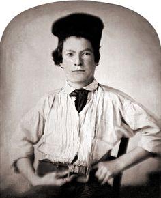 Samuel L. Clemens\Mark Twain, age 15, 1850.