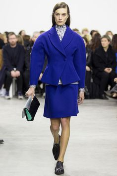 Inspired by 1940 Christian Dior? really nice out fit. 2014 F/W Proenza schouler
