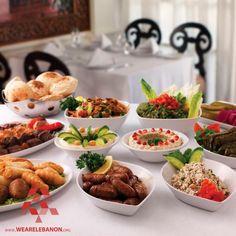 Nothing beats #Lebanese mezze ما في أطيب من المازة اللبنانية #WeAreLebanon #Lebanon