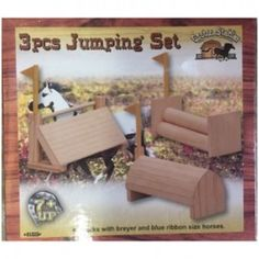 Groton Stables - 3 piece Jumping Set