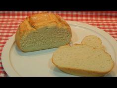 Cómo hacer pan casero sin levado de forma fácil y rápida (Receta de pan milagro) - YouTube Pan Milagro, Sandwiches, Toast, Bread, Relleno, Youtube, Shape, Bread Recipes, Sweets