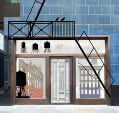 Jack Spade concept design by Carl Turner Architects for the RIBA London, Regent Street Windows Project