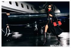 Jet Set —the noir edition. Michael Kors Fall, Michael Kors Fashion, Vogue Editorial, Editorial Fashion, Lifestyle Photography, Fashion Photography, Mario Testino, Badass Style, Girly