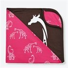 Wee Urban x Pink Giraffe Organic Stroller Blanket Pink Giraffe, Cuddle Buddy, Stroller Blanket, Urban, Cuddling, Organic Cotton, Baby Kids, Children