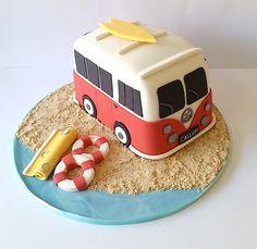 VW Camper cake Mais