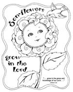 FREE... Apples of Gold Coloring Page - Karla's Korner