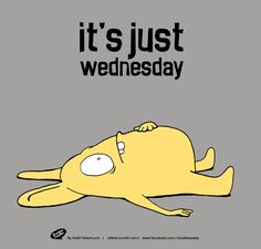it's just Wednesday