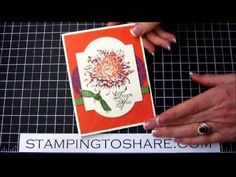 Blooming with Kindness Thank You Card, Step by Step How to Video
