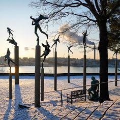 Sculpture garden Millesgården, Stockholm