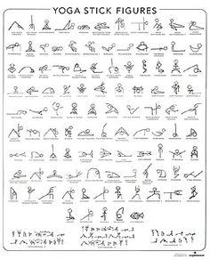 35 best yoga stick figures images  yoga stick figures