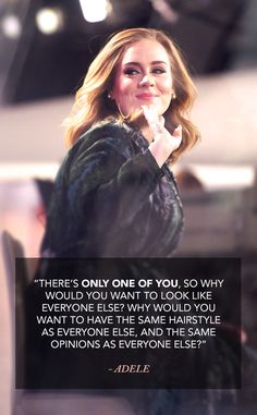 Ah Adele, your advice is as golden as your voice.