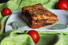 Vegetariánské lasagne /Vegetarian lasagna/ Zdravé, nízkosacharidové, bezlepkové recepty. (Healthy, low carb, gluten free recipes.) Meatloaf, Paleo, Gluten, Vegetarian, Beef, Recipes, Food, Lasagna, Meat