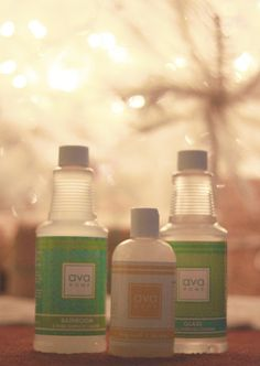 Ava Anderson cleaning products.  You think non-toxic cleaners don't clean?  You haven't tried these yet!  I even use the hard surface cleaner on my new glass-top  stove!