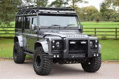 Classic 2015 65 Reg Urban Truck Ultimate Edition 110 XS… for sale in Cheshire with Classic & Sports Car Classifieds, the UK's best online classic car classifieds. - Cars and motor Landrover Defender, Land Rover Defender 110, Classic Sports Cars, Classic Cars, Land Rover Discovery, Carros Off Road, Automobile, Land Rover Models, Jeep 4x4