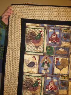 The Chicken quilt.