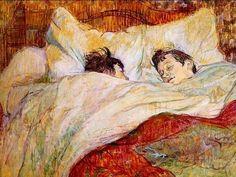 Edgar Degas: In Bed - 1892