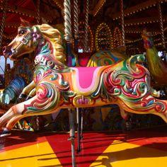 carousel horses | Carousel Horses At The Links Market