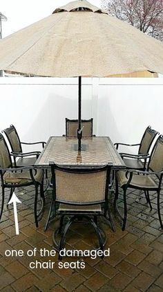 How to save yourself money with diy patio chair repair best how to save yourself money with diy patio chair repair best bloggers board pinterest chair repair furniture repair and diy patio solutioingenieria Choice Image