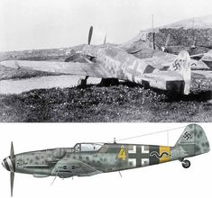 A Messerschmitt Bf 109 G-14 of 15./JG 5 photographed at Lister, Norway, in May 1945