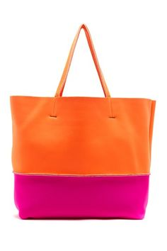 Softee Colorblock Tote by Steve Madden on @HauteLook
