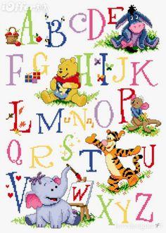 Pooh Cross Stitch Patterns | Free winnie the pooh cross stitch patterns. I just love Mr Saunders.