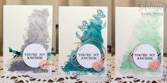Guy Greetings 'You're My Anchor' Gift Set ~ Susan Wong