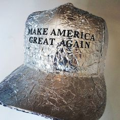 Trump wears tinfoil hat to stop Obama hearing his thoughts…