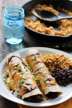 BBQ Pulled Pork Enchiladas