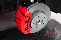 Mercedes Vito - Calipers Painted - http://www.motomotion.net/mercedes-vito-calipers-painted/ #GtechniqUK #Detailing #Valeting #Tinting #Motomotioncornwall