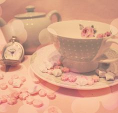 Rose Tinted Teacup Lucky Stars Little Sweets