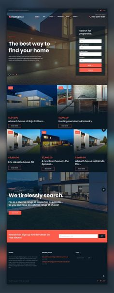 HomePro Real Estate Portal WordPress Theme CMS & Blog Templates, WordPress Themes, Real Estate Templates If you want to build a successful real estate agency website with WordPress, you will need a powerful and fully-fledged theme, which supports specific forms and plugins such as IDX listing out of t...