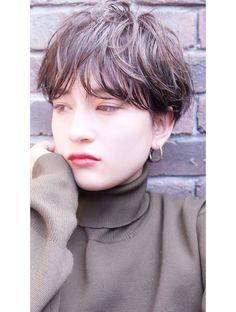 Wavy Pixie, Long Pixie, Short Perm, Pelo Bob, Hair Reference, Cute Hairstyles, Her Hair, Hair Inspiration, Short Hair Styles