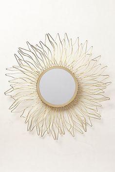 Queen Anne's Lace Mirror - anthropologie.com